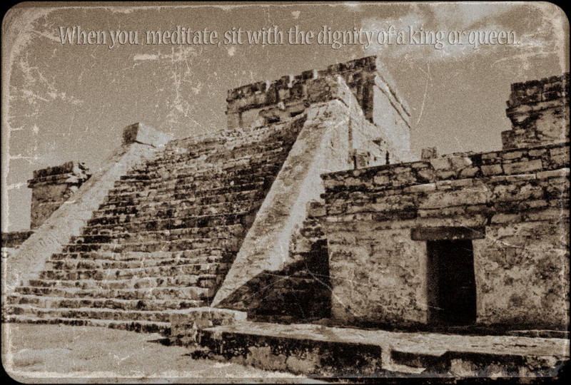 Mayan Temple in Tulum, Mexico 2003