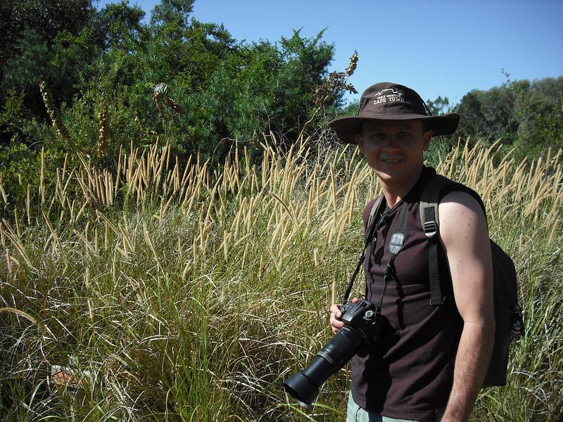 We visited Bontebok National Park.  Bonteboks are a type of antelope.