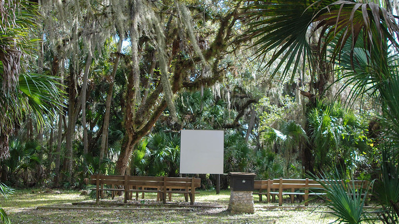 Myakka River State Park outdoor movies