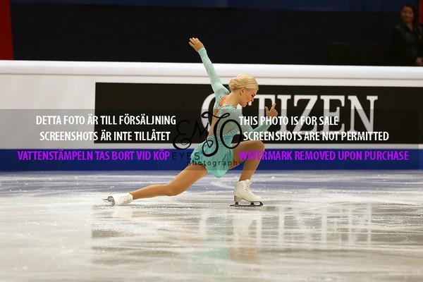 European Championships 2015 Ladies SP