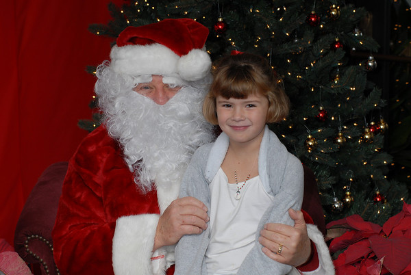Santa Visits Lunada Bay Ward Primary
