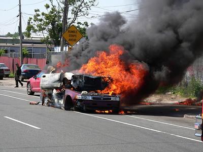 Vehicle Fire - Phila - 61st St.