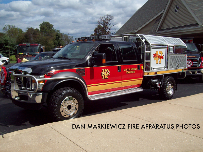 KING OF PRUSSIA VOLUNTEER FIRE CO. FIELD 47 2009 FORD/KPFC BRUSH UNIT
