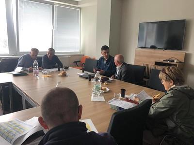 Zasadnutie ŠTK , disciplinárnej komisie, Bratislava - 2.10.2018
