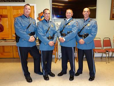 Northvale Police Dept. Promotions 11-13-19