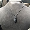 1.52ctw Edwardian Diamond Platinum Pendant 7