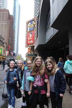 NYC Broadway Trip