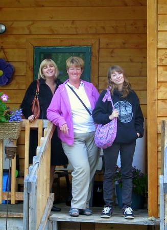 Patti and Kat visit!