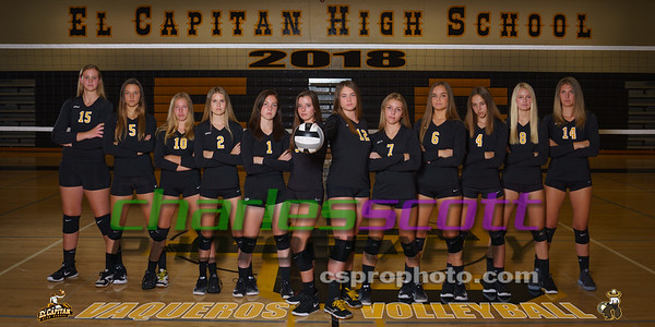 El Capitan Girls Volleyball