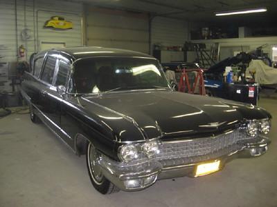 '60 Cadillac Hearse