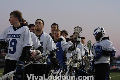 Varsity Boys Lacrosse: Brentsville District HS at Tuscarora HS 3.26.14 by Hanna Duenkel