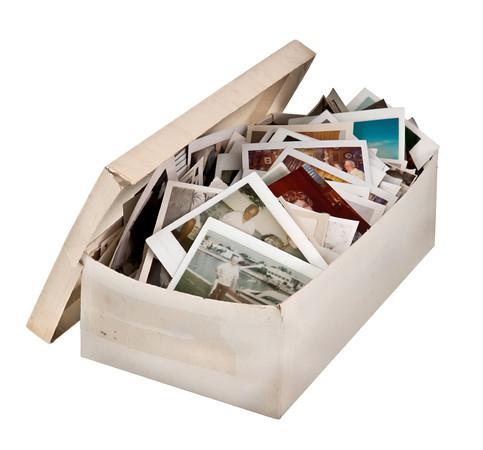 Get That Shoebox of Photos Online