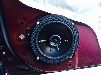 2003 Honda Civic LX Sedan Front Door Speaker Installation - USA