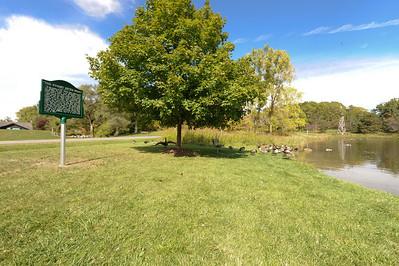 Stuart Little Pond Historical Marker