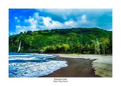 Kaluahine Falls, Hawaii