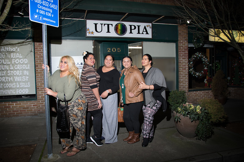 UTOPIA Board, Staff, and Members in front of their Kent office