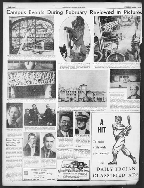 Daily Trojan, Vol. 29, No. 90, March 02, 1938