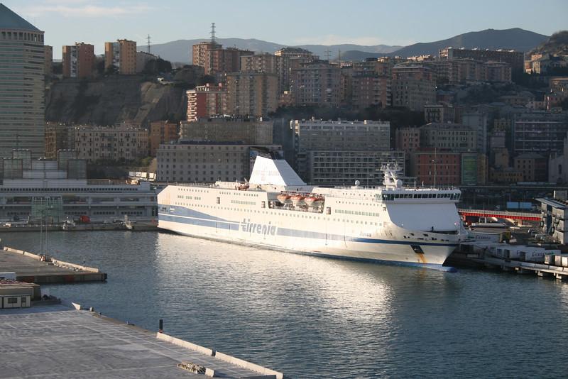 2009 - F/B JANAS in Genova.