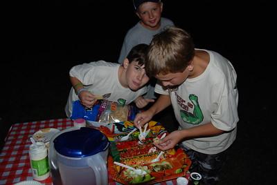 Troop Meeting Iron Chef August 2008