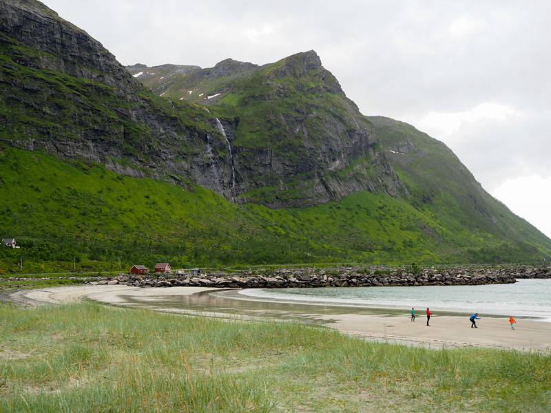 Northern Norway beach