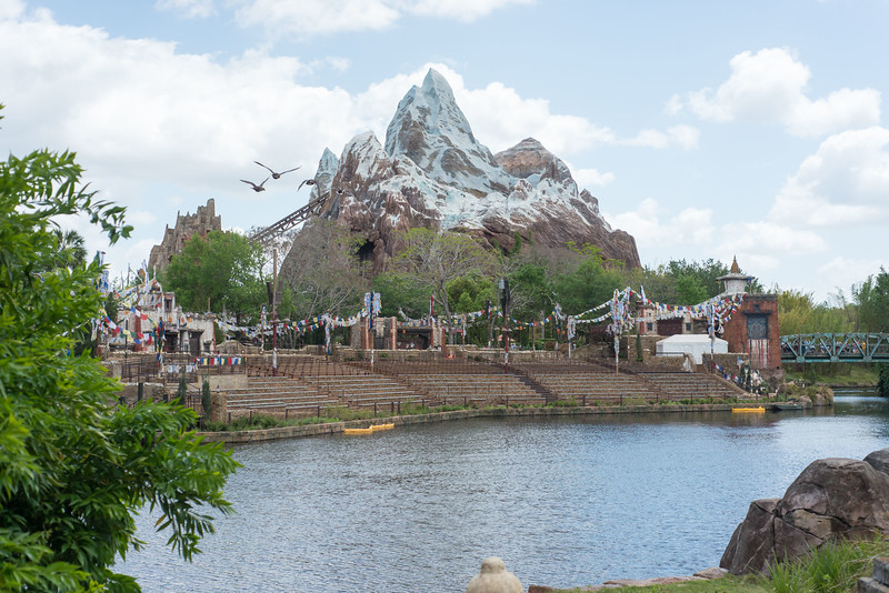Rivers of Light Seating Area - Disney's Animal Kingdom Walt Disney World