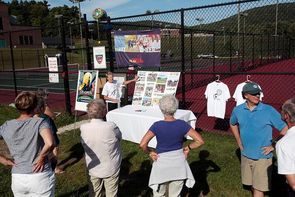 Lee Tennis Court Dedication-082513