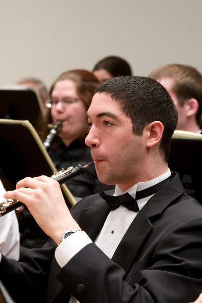 Hernan del Aguila, oboe -- Hopkins Symphony Orchestra, March 2008