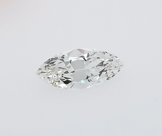 1.71ct Vintage Marquise Diamond - GIA G, SI1