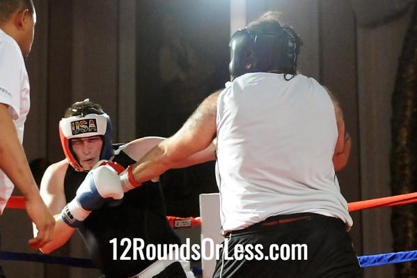 Bout 5 Nate Porter, Lorenzo Scott, Kent/Akron -vs- Hector Padilla, Rob Berto's BC, Pittsburgh, PA, Heavy, Sub-Novice