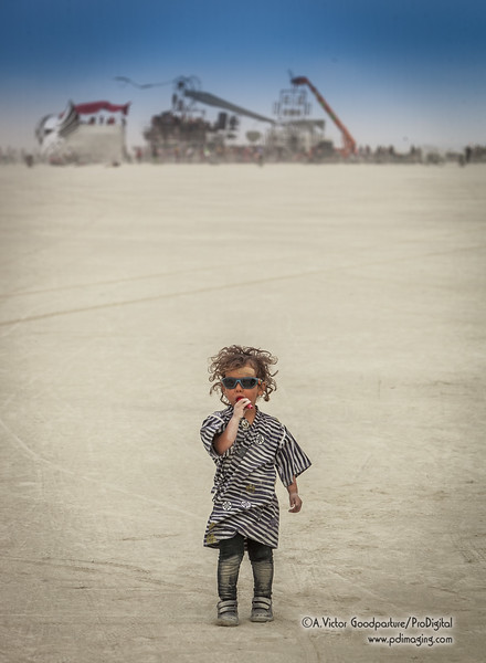 Children are welcome at Burning Man.