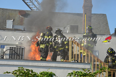 Bellmore F.D. Building Fire 2565 Bellmore Ave 7-27-13