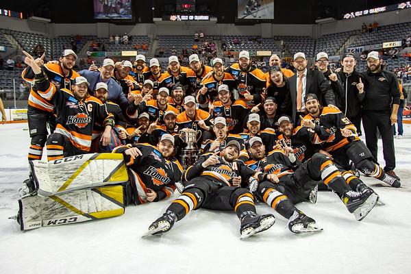 2021 Kelly Cup Championship - On Ice Celebration