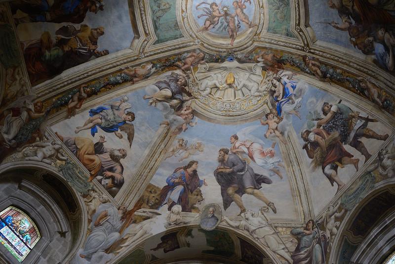 Interior Dome of Siracusa Duomo/Tempio di Minerva