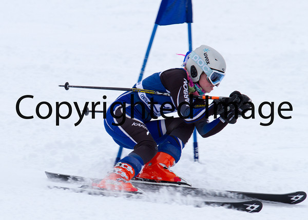 U16 Women GS 2/23 Run 1