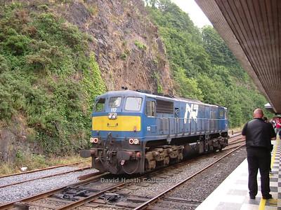 Rosslare Rambler Ian Walsh Railtour 25 June 2005