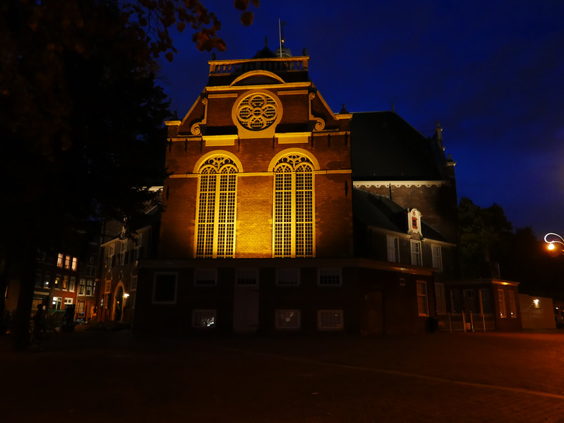 The Noorderkerk (North Church) At Night