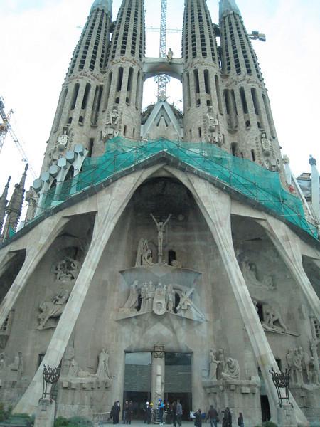 Barcelona - Gaudi's Sagrada Familia