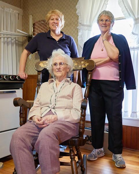 Jane, Nancy, Thelma
