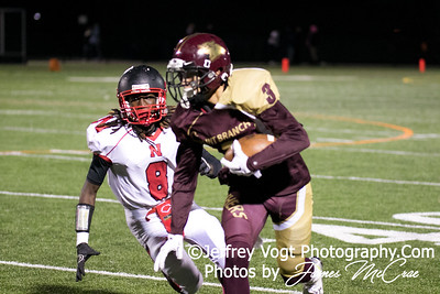 10-30-2015 Paint Branch HS vs. Northwood HS Varsity Football, Photos by Jeffrey Vogt Photography with James McCrae
