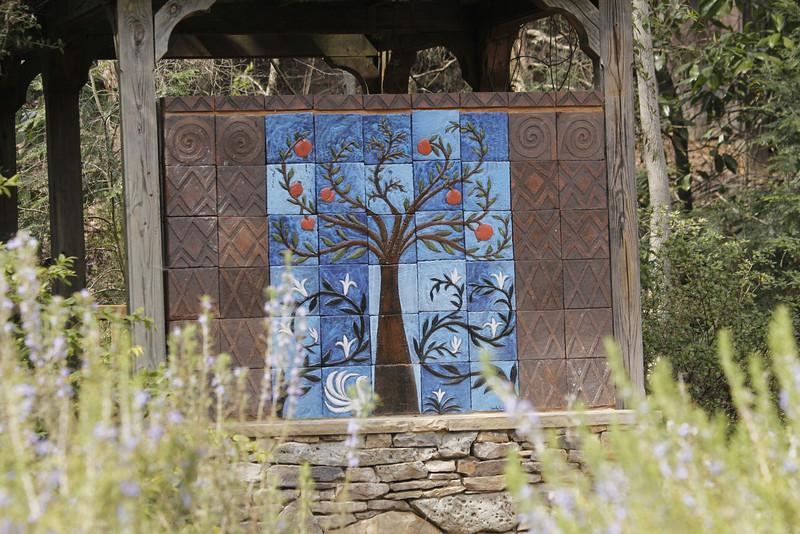 artistic tile work