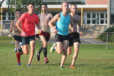 Campus Workout 800 Repeats