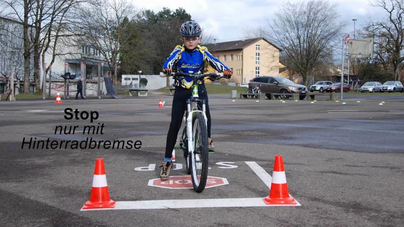 Stop - nur Hinterrad.wmv