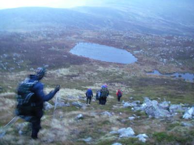 Summer ML Training; Stuart Johnston Mountaineering Scotland