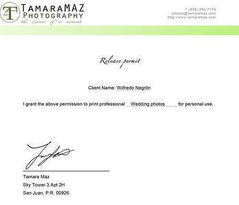 Release Permit