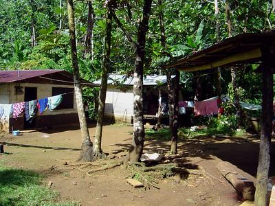 John's host family's village