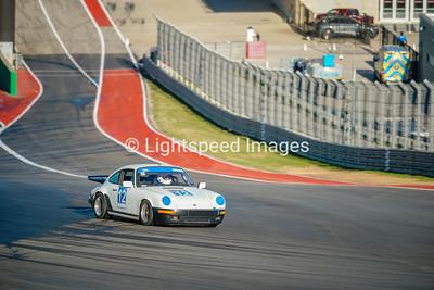#12 White Porsche 911 Carerra
