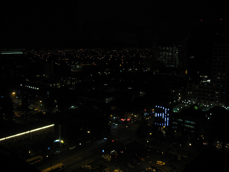 San Jose at night.