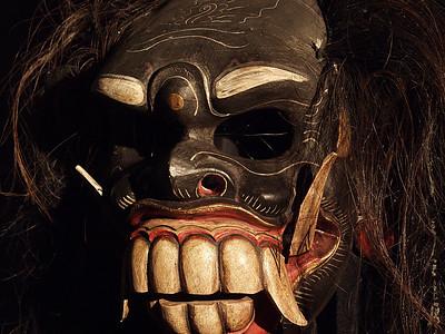 Masks Wall Three