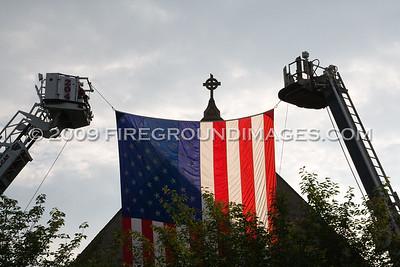 Bridgeport Area Retired Firefighters Memorial (6/2/09)