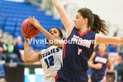 Girls Basketball: Thomas Jefferson vs. Tuscarora 2.21.17 (by Chas Sumser)
